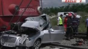 ACCIDENT GRAV în Pipera. REGELE IMOBILIARELOR din Ilfov, UCIS de tren VIDEO