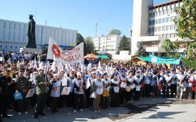protest medici sindicat
