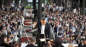 Filarmonica din Iaşi în concert în Copoul vasluian!