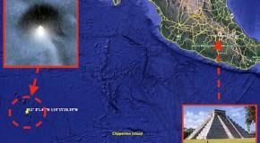 O piramidă imensă, descoperită pe fundul oceanului cu Google Earth