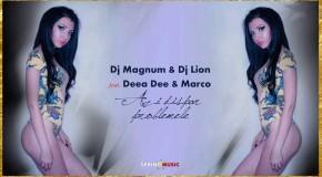 "Dj Magnum & Dj Lion, Deea Dee si Marco, lanseaza ""Azi dispar problemele"" !"