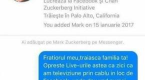 Nebunieeee. Un român s-a hotărât să-i scrie lui Mark Zuckerberg. Mesajul antologic primit de părintele Facebook!