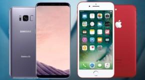 Cum era de aşteptat, a apărut pe internet si testul căderii între Samsung Galaxy S8 şi iPhone 7.
