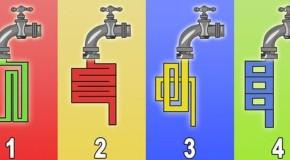 Test: află cât de inteligent ești! Prin ce robinet curge apa mai repede
