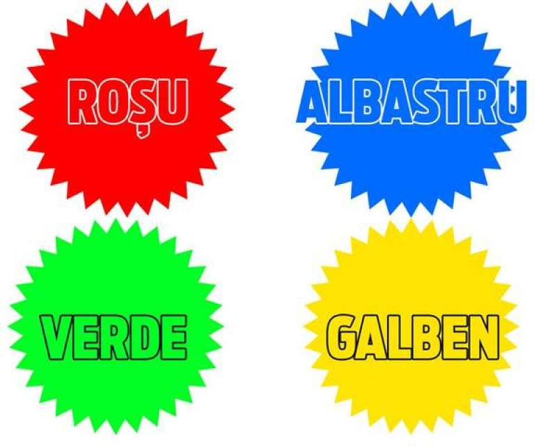 test culori