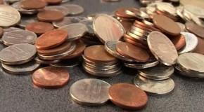 Un ieșean supărat a plătit o amendă cu 120 de kilograme de monede