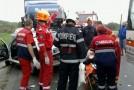 Trei masini s-au ciocnit violent la Bãdeana, patru victime au ajuns la Spital