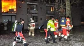 """El este adevăratul """"om de oțel""""! La 103 ani, a sărit pe fereastra unei clădiri în flăcări și a supraviețuit!"""