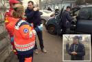 Accident la intrarea în municipiul Bârlad