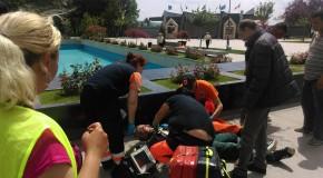 Angajat al Goscom-ului la un pas de moarte după ce a leșinat în timpul serviciului