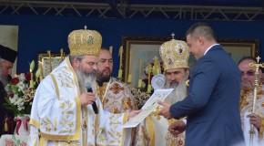 Prefectul a participat la sfințirea Capelei din curtea DGASPC Vaslui