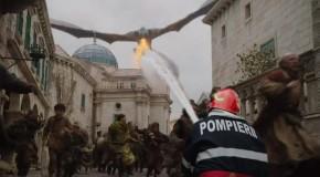 Pompierii din MAI, ironii după ultimul episod din Game of Thrones: I-am dat lui Daenerys amendă