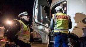 Alcoolemie record pentru doi șoferi români de TIR!