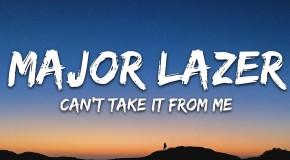 Major Lazer – Can't Take It From Me (feat. Skip Marley) (videoclip nou)