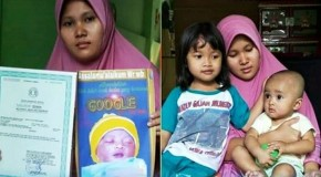 """O familie de indonezieni și-a numit bebelușul """"Google""""!"""