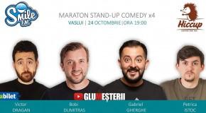Stand Up Comedy Maraton x 4 la Vaslui!
