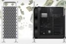 Cât costă Mac Pro complet configurat. Poate ajunge la 1,5 TB RAM, iar fiecare rotilă adaugă 100 de dolari la preţ
