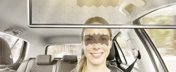 """Bosch lansează la CES un parasolar inteligent pentru maşină care """"proiectează"""" umbră pe ochii şoferilor"""