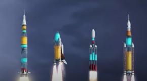 Ce am putea vedea dacă rachetele ar fi transparente. Iată cum se scurge combustibilul