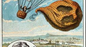 Primul om care a sărit cu paraşuta. Prima dată şi-a aruncat câinele