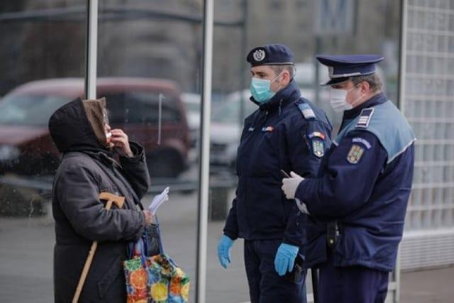 amenda masca politie