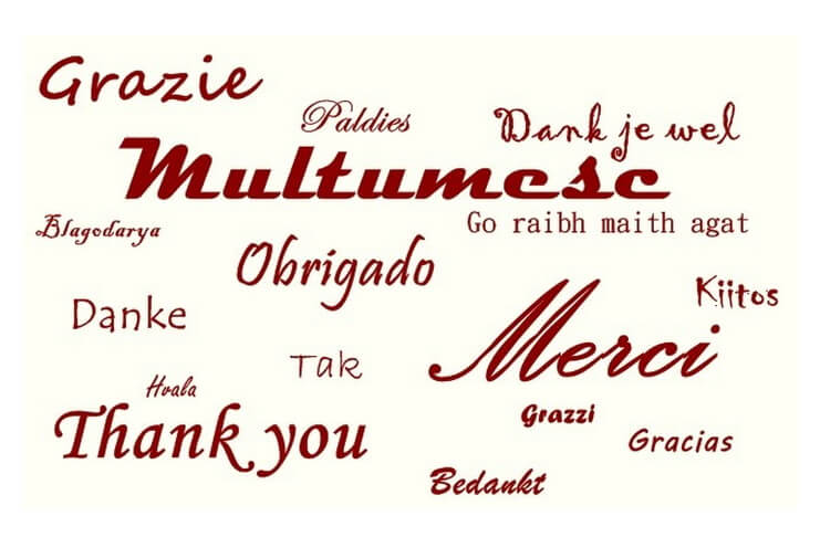 multumesc ziua internationala