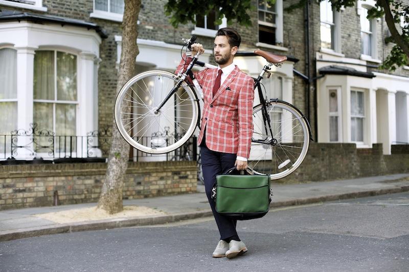 gentleman-bike-ride-red-checked-jacket-men-style