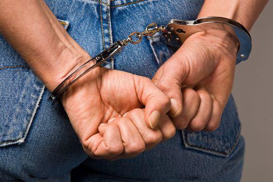 femeie arest