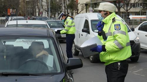 amenda politie trafic coronavirus declaratie