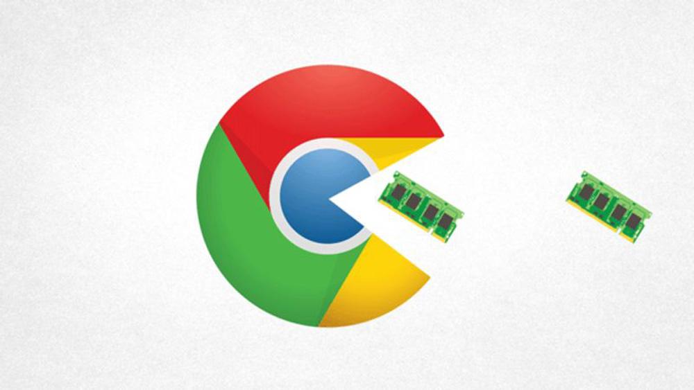 chrome google ram pacman