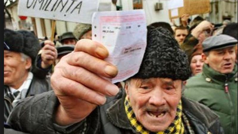 pensionar greva